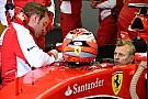 Video: Raikkonen en el asiento del nuevo Ferrari