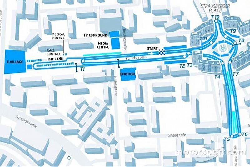 Formule E-race Berlijn heeft nieuwe locatie