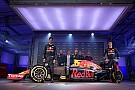 Red Bull presenta su imagen para el 2016