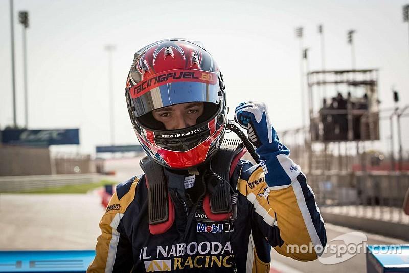 شميد يحقق المركز الأول في السباق الافتتاحي على أرض حلبة دبي أوتودروم