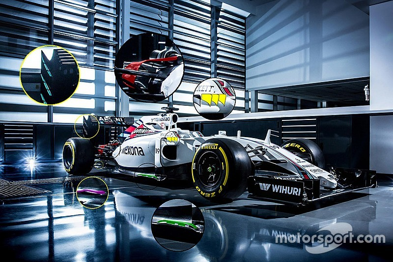 Tech analyse: Wat is er anders aan de nieuwe Williams FW38?