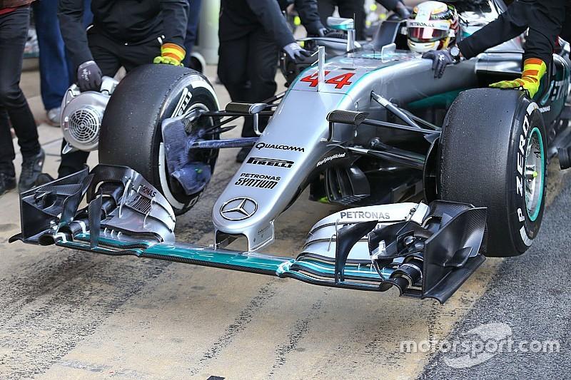 Новый обтекатель Mercedes может оказаться вне закона