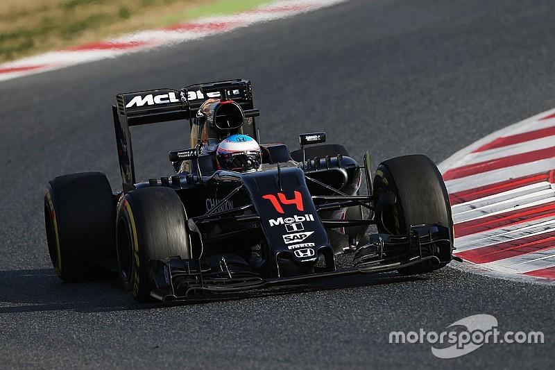 """В четверг McLaren помешала """"относительно незначительная"""" поломка"""