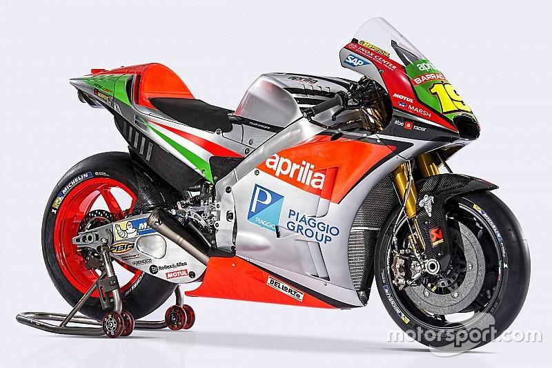 Aprilia onthult geheel vernieuwde 2016 MotoGP-motor