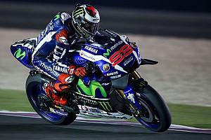 MotoGP Testbericht MotoGP-Test Katar: Lorenzo deklassiert Rest der Welt