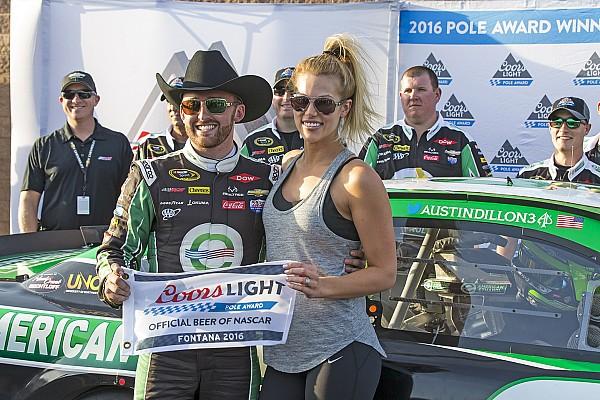 NASCAR Cup Austin Dillon conquista la pole a Fontana