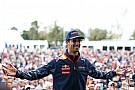 """Ricciardo vierde voor eigen publiek: """"Heb me goed geamuseerd"""""""