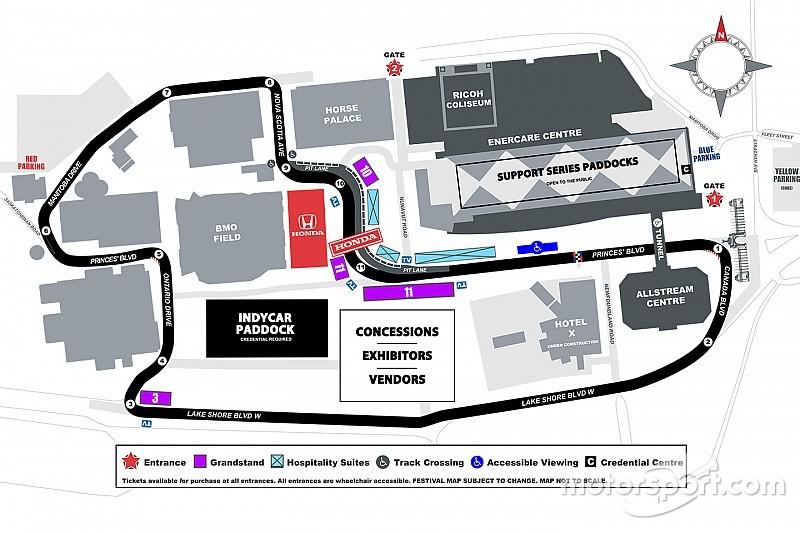 Svelata la nuova pit lane del tracciato canadese di Toronto