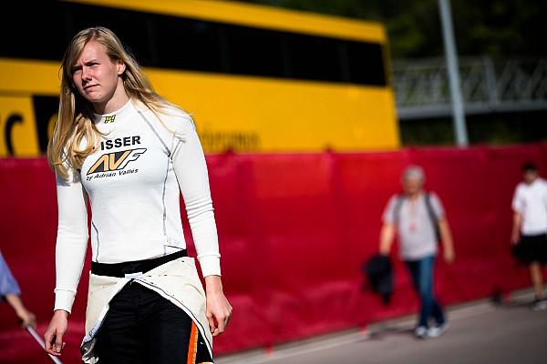 Visser bij Strakka in Formule 3.5-test Barcelona