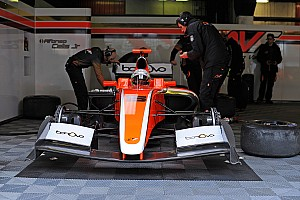 Formula V8 3.5 Noticias Alfonso Celis Jr. finaliza test en Barcelona