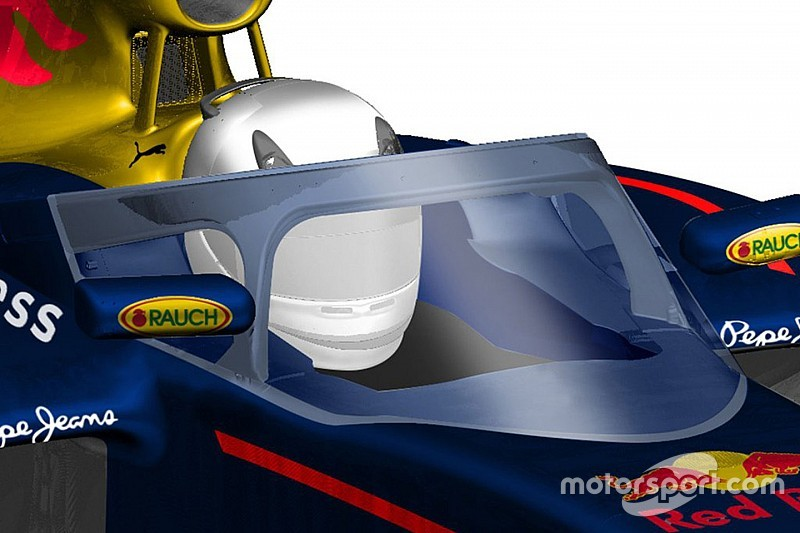 Ricciardo en Kvyat vinden cockpitbescherming Red Bull beter dan Ferrari-halo