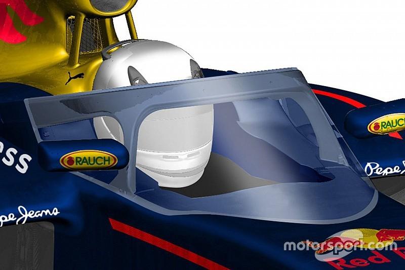 Система защиты кокпита Red Bull понравилась Квяту и Риккардо больше Halo