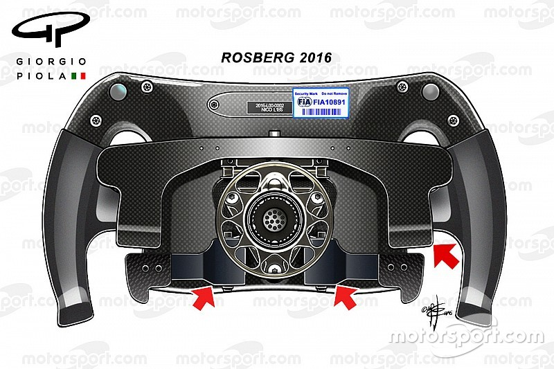 Breve análisis técnico: el volante de Nico Rosberg