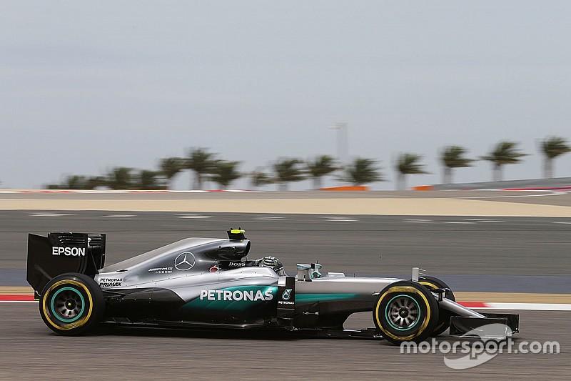 Grand Prix von Bahrain: Nico Rosberg im ersten Training vorne