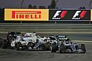 Der Startcrash zwischen Valtteri Bottas und Lewis Hamilton