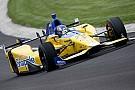 Marco Andretti marcó el mejor tiempo en Indianápolis