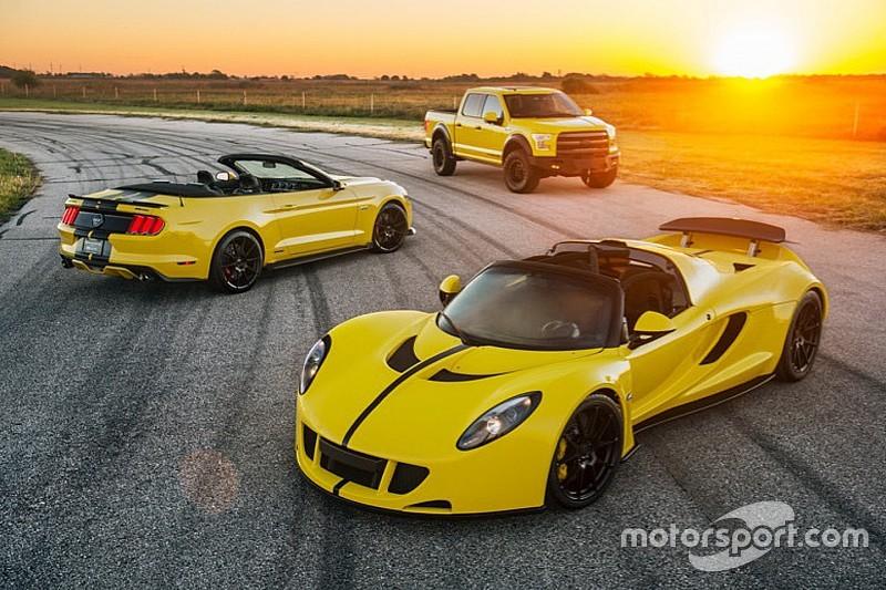 Hennessey gaat voor nieuw snelheidsrecord met Venom GT Spyder