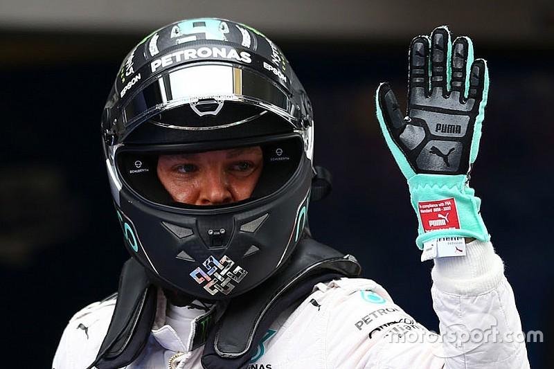Pole, Rosberg tenta esconder jogo após Q2 estratégico