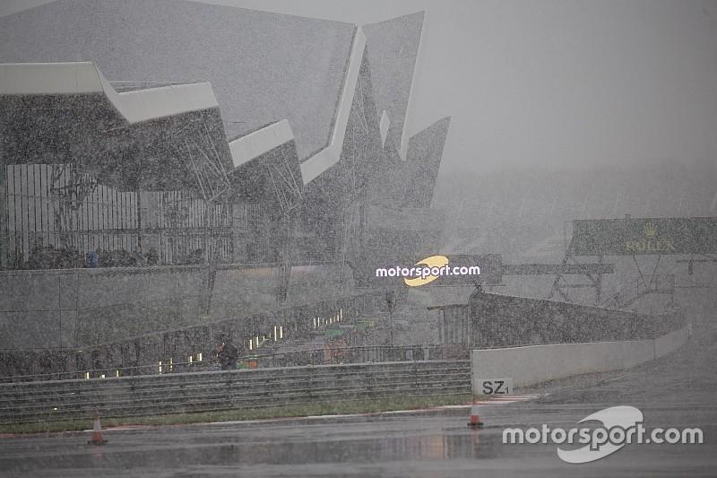WEC-training Silverstone afgelast vanwege sneeuw