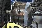 Formel-1-Technik: Modifikationen am Williams-FW38-Bremskanal