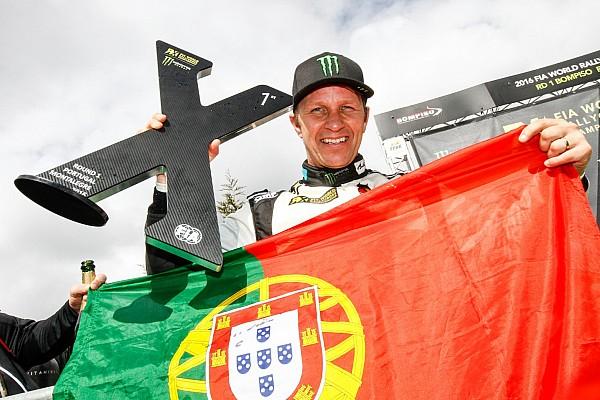 رالي كروس سولبرغ يتوج بلقب الجولة الافتتاحيّة للرالي كروس في البرتغال،  ولوب خامساً