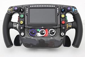 技术分析:迈凯伦F1赛车方向盘
