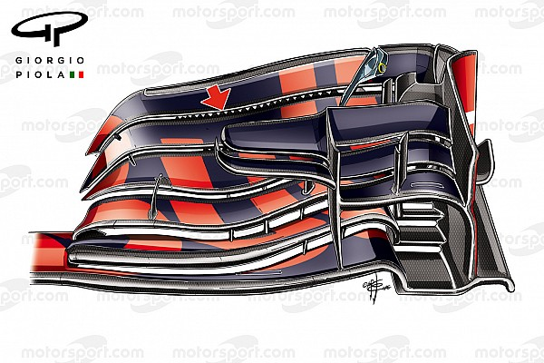 Análise técnica: Como a Red Bull evoluiu a ideia da Mercedes