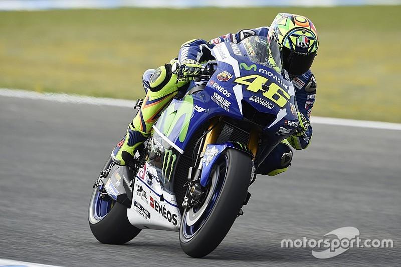 Moto GP西班牙站:罗西最后一圈夺得杆位
