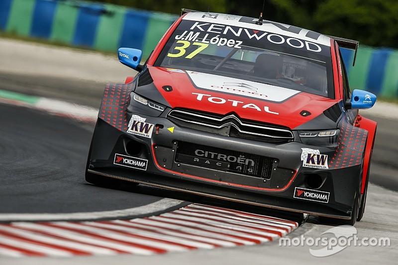 López gana la pole position en Hungría