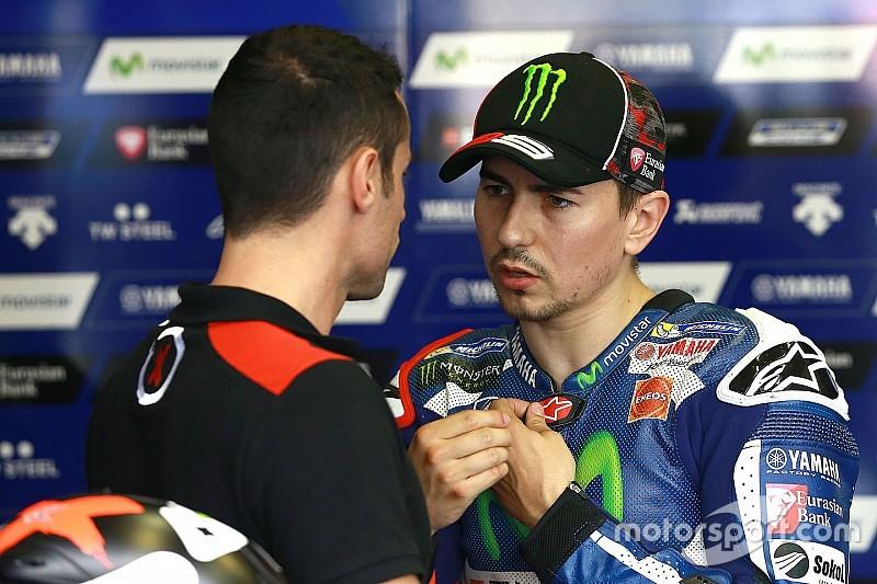"""Lorenzo: """"La gomma posteriore pattinava come sul bagnato!"""""""