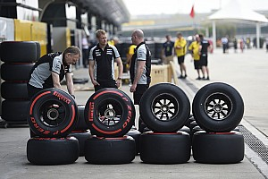 Формула 1 Комментарий Командам придётся вслепую выбирать шины на первые этапы сезона-2017