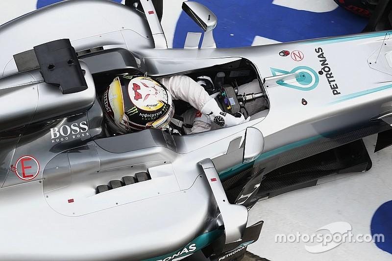 هاميلتون سيُعيد استخدام مُحرك الصين في وقتٍ لاحق من الموسم