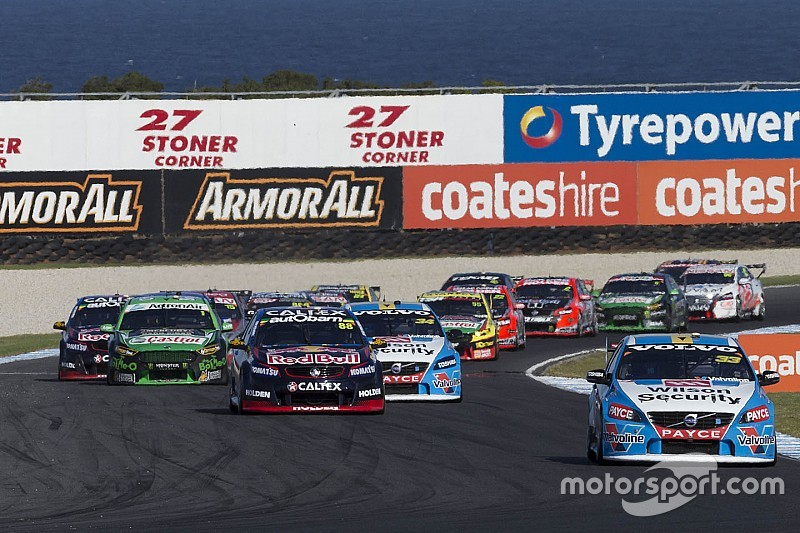 "Neuer Titelsponsor, neuer Name: Australische Supercars künftig ohne ""V8"""