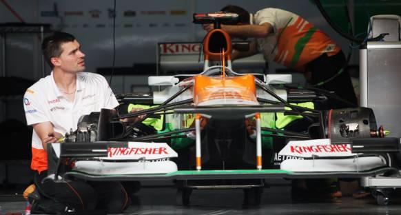 Force India 2. seansa çıkmayabilir