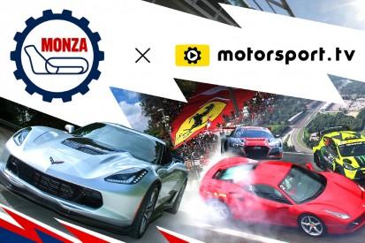 Monza startet eigenen Kanal auf Motorsport.tv
