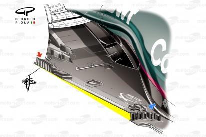 Formel-1-Technik 2021: Sind Z-Unterböden des Rätsels Lösung?