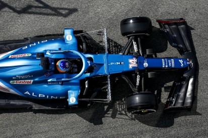 """Formel-1-Team Alpine räumt """"Probleme"""" im Windkanal ein"""
