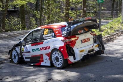 WRC 2021 Kroatien: WM-Führender Rovanperä mit Überschlag, Neuville führt