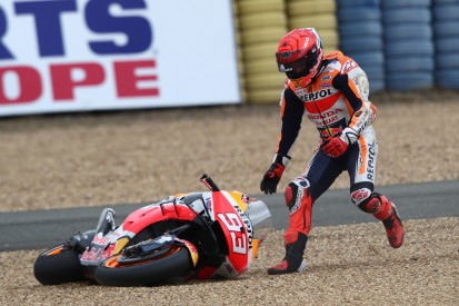 """Marc Marquez verspielt Podestchance in Le Mans: """"Zweiter Sturz war unnötig"""""""