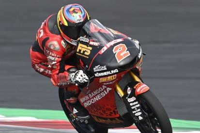 Moto3 Aragon FT1: Gabriel Rodrigo mit später Bestzeit, Kofler Vorletzter