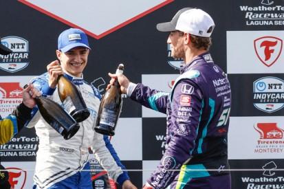 Erste Chance in der IndyCar-Serie: Palou und Grosjean danken Dale Coyne