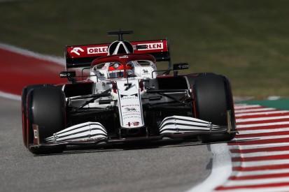 Dreher kurz vor Schluss: Kimi Räikkönen wirft Punkt für Alfa Romeo weg