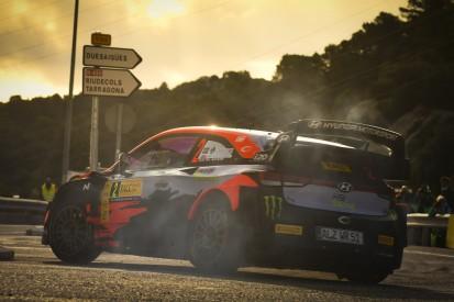 Oliver Solberg auch bei der Rallye Monza im WRC-Auto von Hyundai