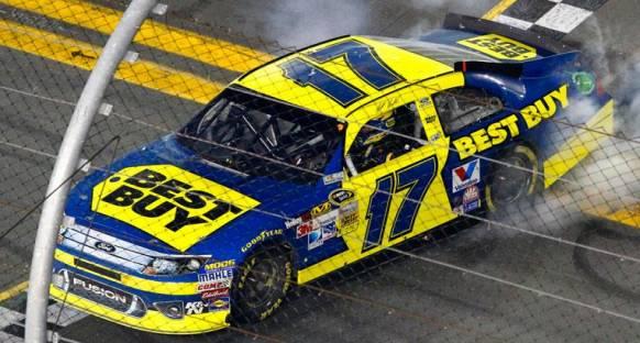 Kenseth ikinci Daytona 500 zaferini elde etti