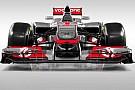 McLaren 2012 aracını tanıttı