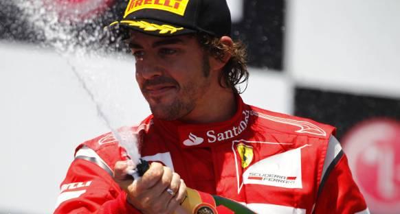Alonso: Schumi bizim için her zaman şampiyon