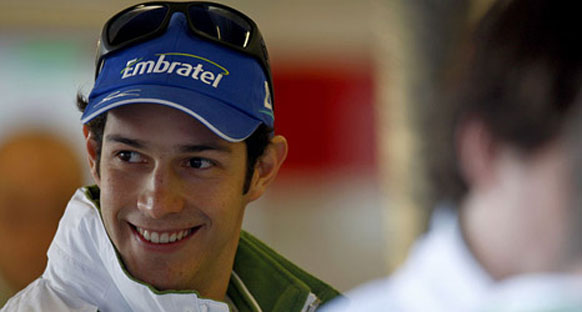 Globo Esporte: Senna Williams ekibiyle tanıştı