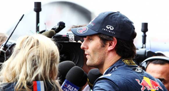 Webber: Yoğun ilgi şaşırtıcıydı