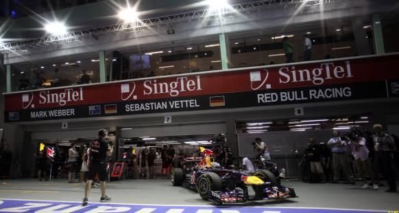Red Bull'un Ön Kanat Güncellemesi