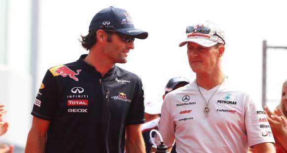 Webber: Schumacher sınırları zorladı